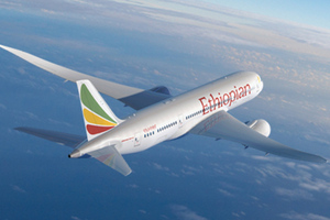 Ethiopian Airlines Boeing 787 Dreamliner