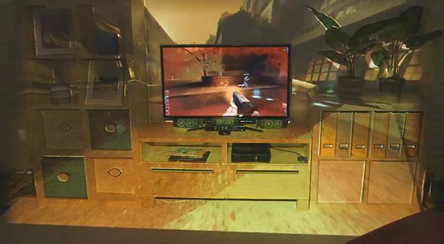 Microsoft Illumiroom Is A Coffee Table Projector Designed