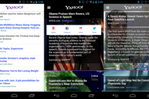 yahoo android