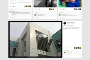 Gallery Photo: Google+ redesign photos