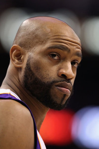 Vince Carter became the 41st player in NBA history to surpass the 20,000 point mark. Congrats, Vince!  (Photo by Christian Petersen/Getty Images)