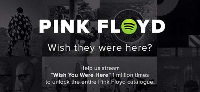 Pink Floyd Spotify better