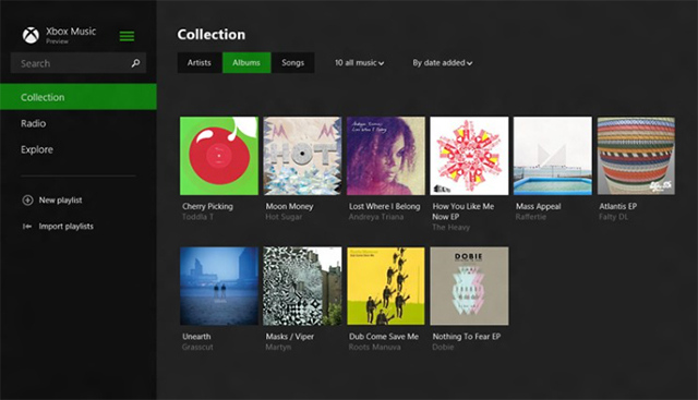 Xbox Music for Windows 8.1
