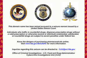 fda website seizure