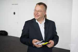 Stephen Elop and his phones