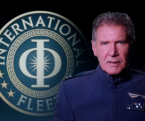 Harrison Ford as Col. Graff in Ender's Game (Credit: Summit Entertainment)