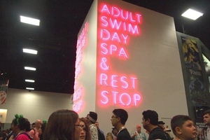 adult swim sdcc booth