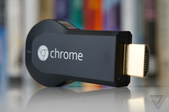 Chromecast – vũ khí xâm nhập phòng khách âm thầm của Google .