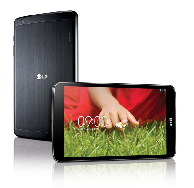 LG анонсировала свой новый планшет