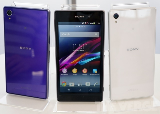 Sony's Xperia Z1 aims to be the biggest and best Android cameraphone yet