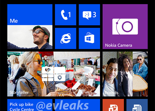 Windows Phone 8 1080p (evleaks)
