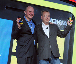 Stephen Elop and Steve Ballmer CEO stock