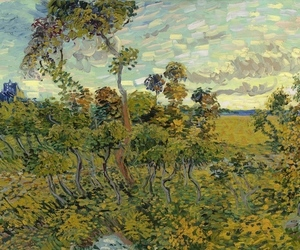 van gogh sunset at montmajour