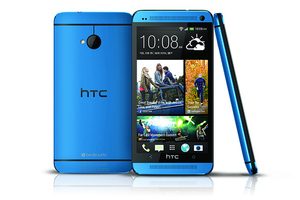 HTC One Metallic Blue