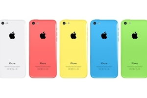 iPhone 5c press colors