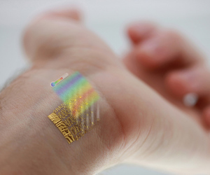 wearable thermometer