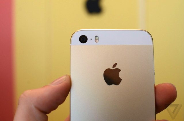 gold iphone 5s stock