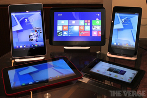Gallery Photo: HP Slate and Omni tablet hands-on pictures