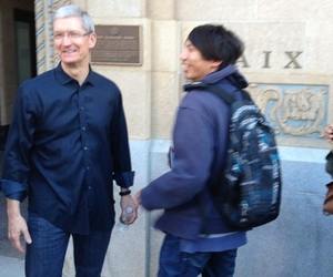 Tim Cook credit Matt Keller twitter