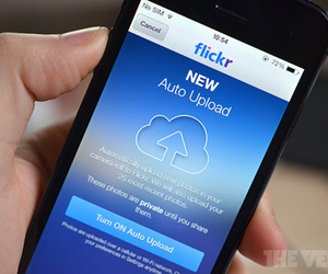 Flickr auto upload iOS 7
