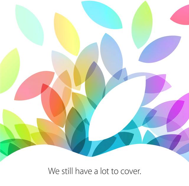 Einladung zum Apple Event am 22. Oktober 2013