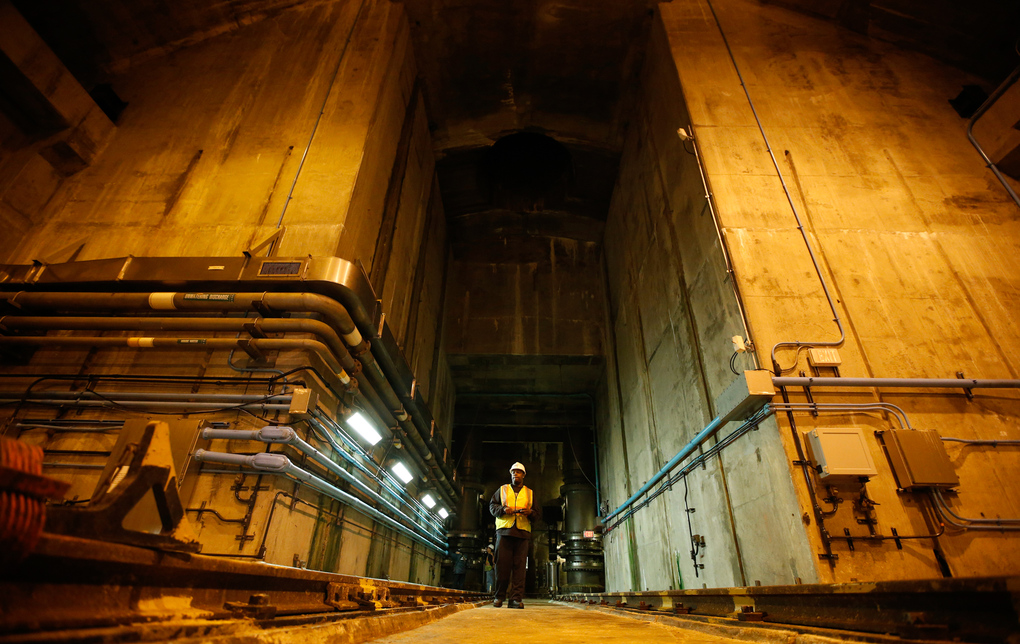 REUTERS/Mike Segar New York Water Tunnel