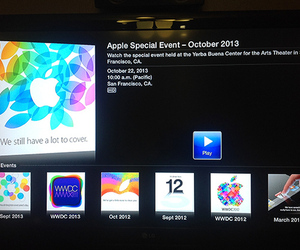 Apple Special Event Apple TV