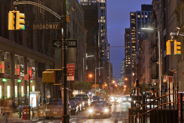 New York City LED street light concept