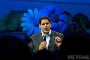 Reggie at E3 stock