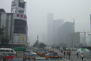 beijing smog (flickr)