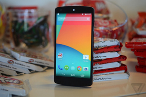 Gallery Photo: Nexus 5 hands-on photos