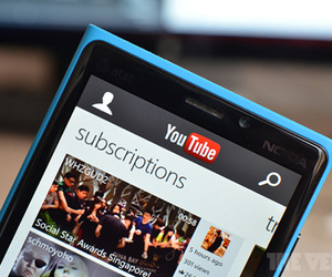 YouTube Windows Phone