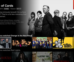 Netflix redesigned user interface