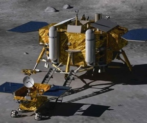 China yutu chang'e lunar lander rover