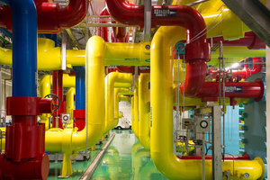 Google Data Center pipes