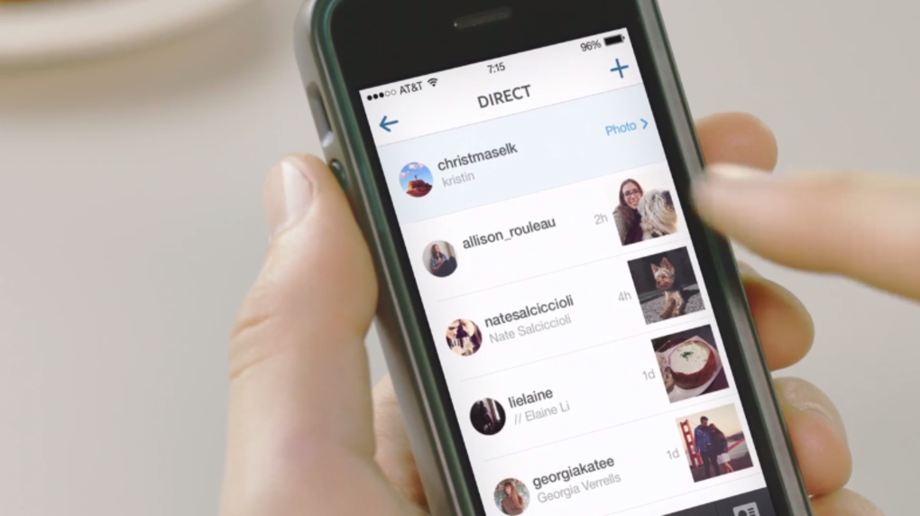 Instagram announces Instagram Direct for private photo, video, and text messaging