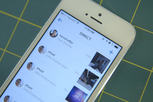Instagram Direct hands-on