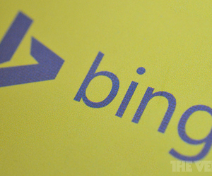 New bing logo stock 2