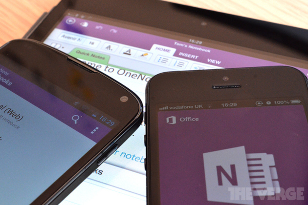 OneNote for Android updated