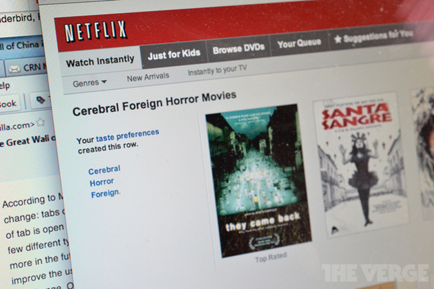 A quantum theory of Netflix's