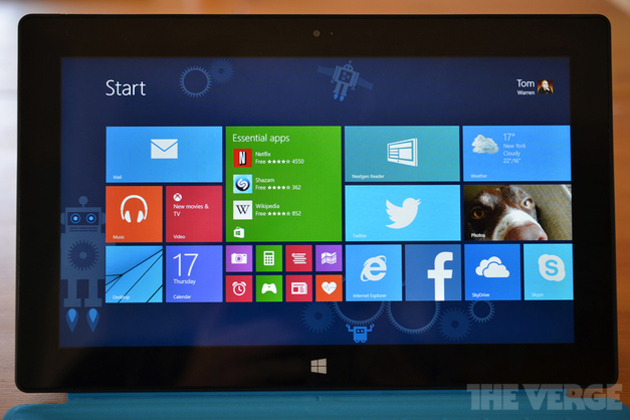 Windows 8.1 Update 1 shows