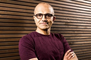 Satya Nadella (from MSFT news page)