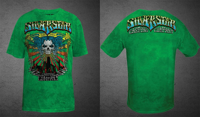 Clay-guida-silverstar-ufc-117-electric-walkout-tee