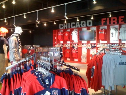 Toyota Park finally has a Chicago Fire Team Store It will