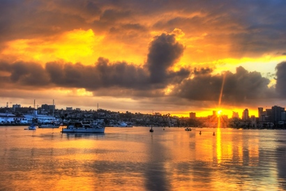 San-diego-sunrise-sunburst-hdr-version-2