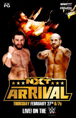 NXT arRIVAL NXT_Arrival