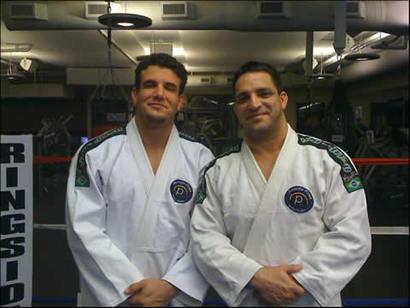 Frank Mir and Ricardo Pires