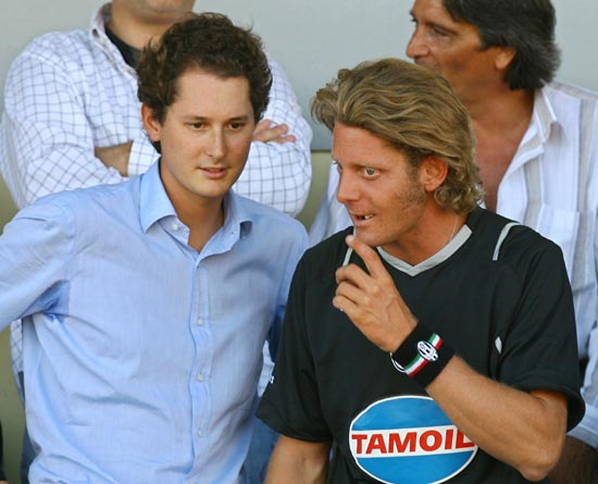 lapo and john elkann