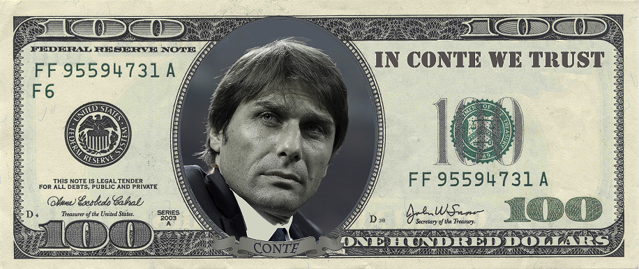 The only man who can save the value of the US Dollar (Zafar - @bianconerifan).
