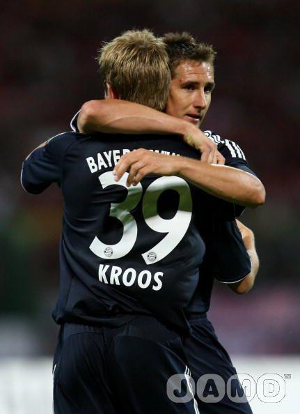 Klose & Kroos Celebrate